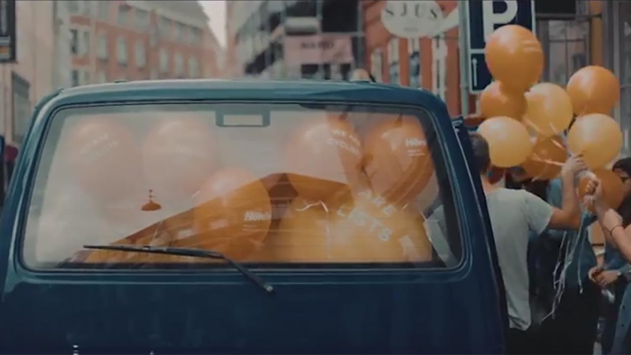 h vding die neue fahrradhelm mit airbag. Black Bedroom Furniture Sets. Home Design Ideas
